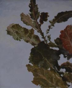 Autumn Leaves, 2002, oil on canvas, 46 x 38 cm.