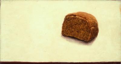 Jerusalem Bread, 1981, oil on canvas, 22.2 x 31.3 cm