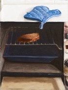 Morning Toast, 1996. Oil on canvas, 61 x 46.2 cm