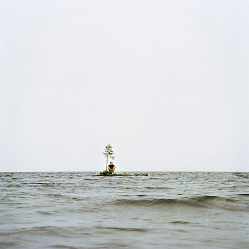It's My Island VI, 2007, Diasec mounted C-Type print, 115 x 115 cm